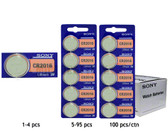 Sony CR2016 Battery - 3V Lithium Coin Cell