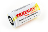 Tenergy C Cell 3500mAh NiCd Battery - Rechargeable (Flat Top) 20401-0