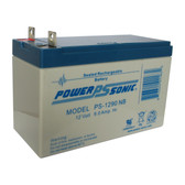 Power-Sonic PS-1290 NB Battery - AGM Sealed Rechargeable
