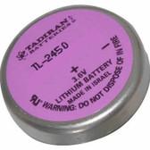 Tadiran TL-2450 Battery - 3.6V Lithium Wafer