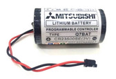 Mitsubishi Q7BAT - CR23500SE(3V) Battery for CNC - PLC Controller