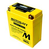Motobatt MB5U Battery - AGM Sealed for Motorcycle - Powersport