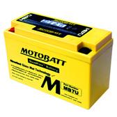 Motobatt MB7U Battery - AGM Sealed for Motorcycle - Powersport