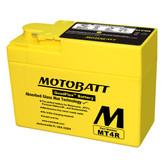 Motobatt MT4R Battery - AGM Sealed for Motorcycle - Powersport