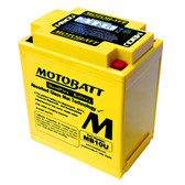 Motobatt MB10U Battery - AGM Sealed for Motorcycle - Powersport