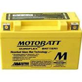 Motobatt MBTX7ABS Battery - AGM Sealed for Motorcycle - Powersport