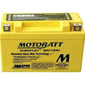 Power Sonic PTX7A-BS Battery Replacement- AGM Sealed for Motorcycle