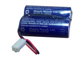 Mazak D80UB016170 Battery with RD0296 (VERIFY CONNECTOR)