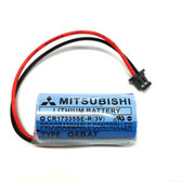 Mitsubishi CR17335SE-R (3V) Battery Replacement w/RD018 Connector