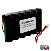 Exell EBC-70 Battery for Lynx Alarm Security Panel