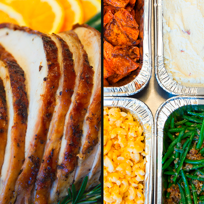 EK Sage Roasted Turkey + Four Spectacular Sides