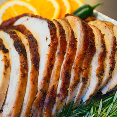 Sage Butter Roasted Turkey Breast