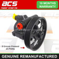 RENAULT TRAFIC POWER STEERING PUMP 2001 > 2013 (5 Groove Pulley)