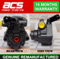JAGUAR X TYPE POWER STEERING PUMP 2.0 DIESEL 2003 > 2010