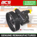 RENAULT LAGUNA 2.0 DCI 02 TO 07 NO SURCHARGE 7 Groove Pulley POWER STEERING PUMP