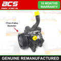 MAZDA 2 1.4 PETROL 2003 TO 2007 POWER STEERING PUMP (77mm Pulley)