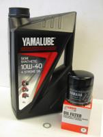 Yamalube Semi-Synthetic Oil Service Kit Yamaha FZS1000 Fazer 01-05 Oil, Filter & Sump Washer