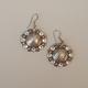 Swarovski Crystal Concho Earring