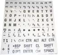 Large Print Keyboard Label Kit