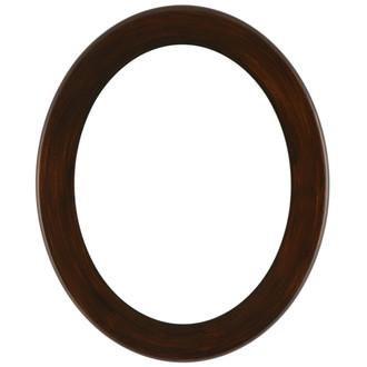 Avenue Oval Frame # 862 - Mocha