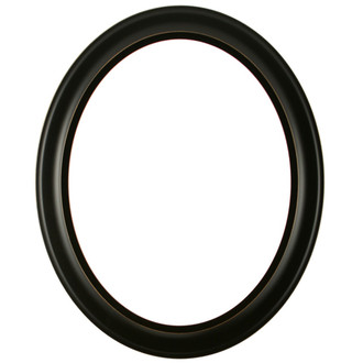 messina oval frame 871 rubbed black