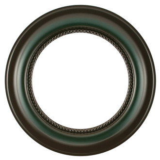 Heritage Round Frame # 458 - Hunter Green