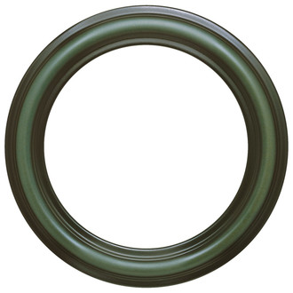 Philadelphia Round Frame # 460 - Hunter Green