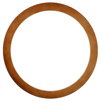 Vienna Round Frame # 481 - Burnished Gold