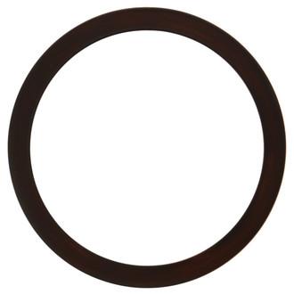 Vienna Round Frame # 481 - Mocha