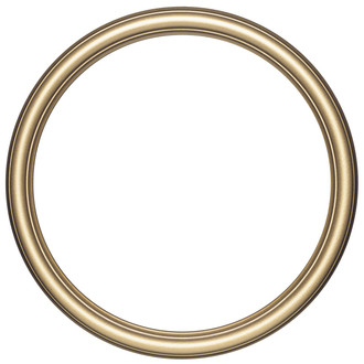 Saratoga Round Frame # 550 - Desert Gold