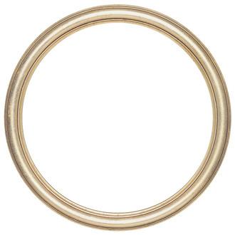 Saratoga Round Frame # 550 - Gold Leaf