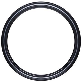 Saratoga Round Frame # 550 - Matte Black