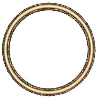 Virginia Round Frame # 553 - Desert Gold