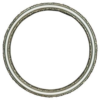 Virginia Round Frame # 553 - Silver Shade