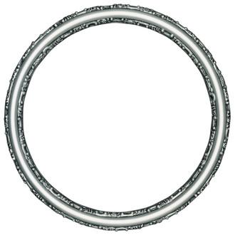 Virginia Round Frame # 553 - Silver Spray