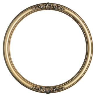 Contessa Round Frame # 554 - Desert Gold