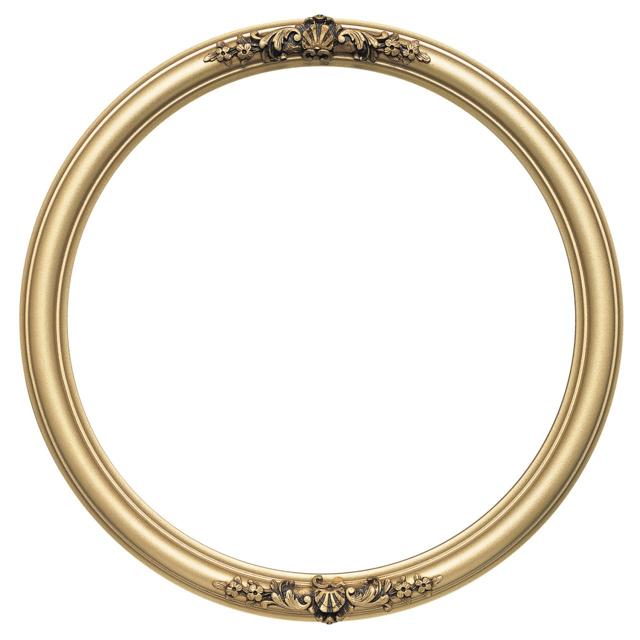 round frame in gold spray finish antique gold paint. Black Bedroom Furniture Sets. Home Design Ideas