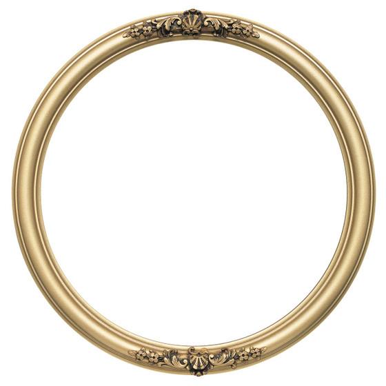 contessa round frame 554 gold spray