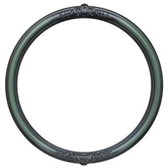 Contessa Round Frame # 554 - Hunter Green