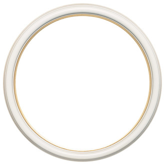 Hamilton Round Frame # 551 - Taupe with Gold Lip