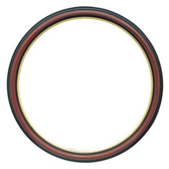 Hamilton Round Frame # 551 - Vintage Cherry with Gold Lip