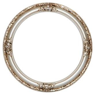 Jefferson Round Frame # 601 - Silver