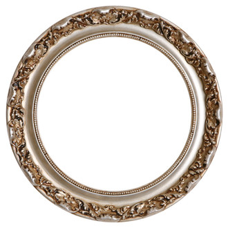 Rome Round Frame # 602 - Silver