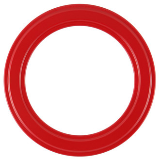 Wright Round Frame # 820 - Holiday Red
