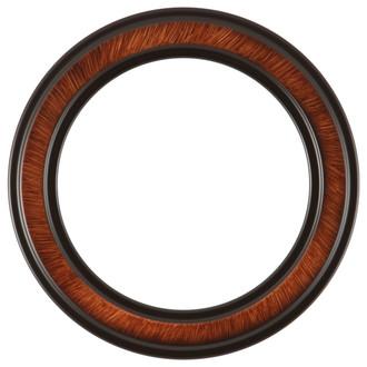Wright Round Frame # 820 - Vintage Walnut