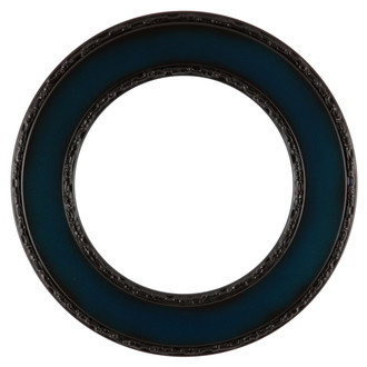 Paris Round Frame # 832 - Royal Blue