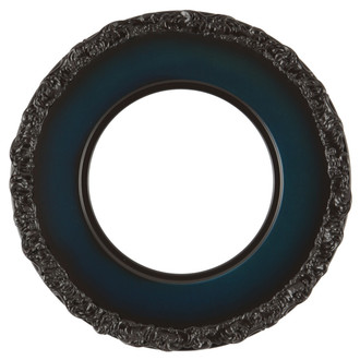 Williamsburg Round Frame # 844 - Royal Blue