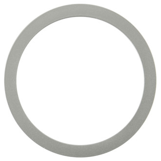 Manhattan Round Frame # 851 - Bright Silver