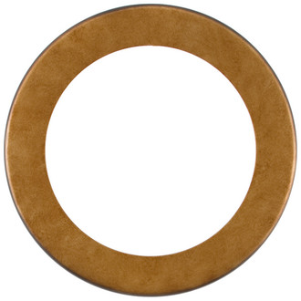 Avenue Round Frame # 862 - Burnished Gold