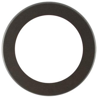 Avenue Round Frame # 862 - Black Silver